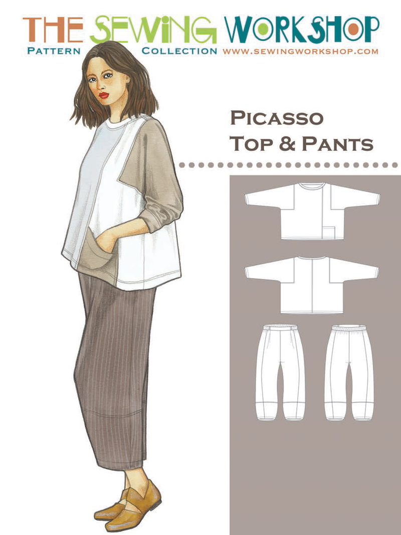 Picasso Top and Trousers Pattern by The Sewing Workshop