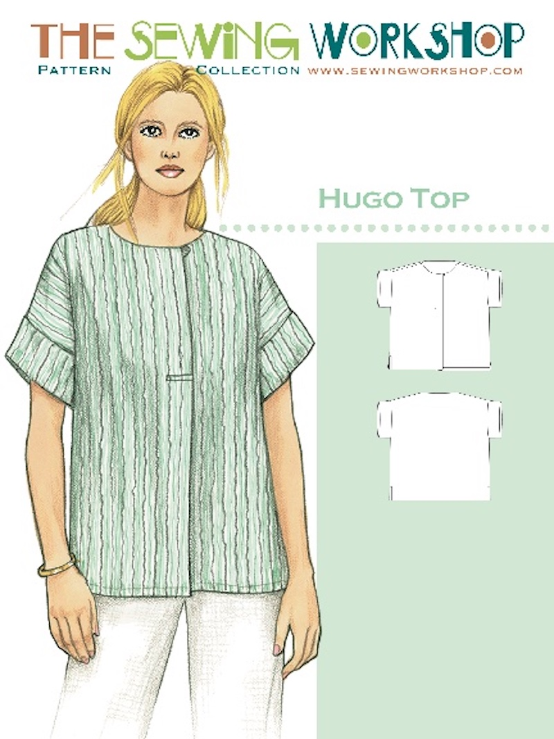 Hugo Top Pattern By The Sewing Workshop
