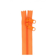 Double Slide Bag Zipper 30in Pumpkin
