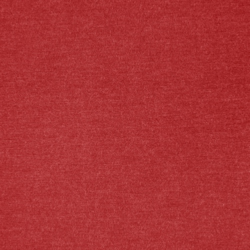 Milano Brick Red Heathered Viscose Jersey Fabric