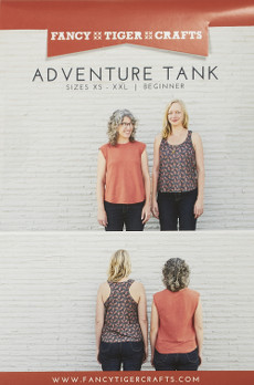 Adventure Tank Pattern - Fancy Tiger Crafts Patterns