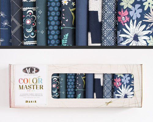 AGF Colormaster Fat Quarter Collectors Set - Midnight Edition