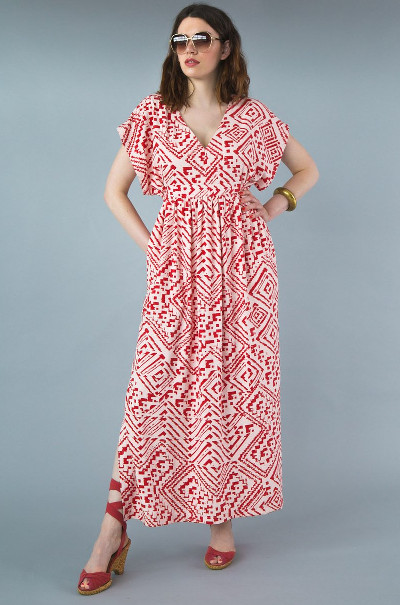 Charlie Caftan By Closet Core Patterns