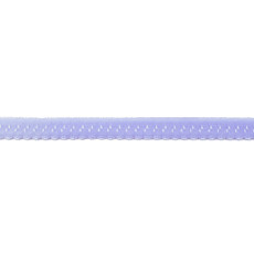 Light Blue Foldover Scalloped Edge Elastic - 12mm X 25m