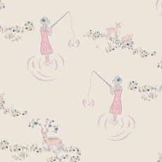Ethereal Fusion Fawn Day Ethereal - Art Gallery Fabric 44in/45in Per Metre