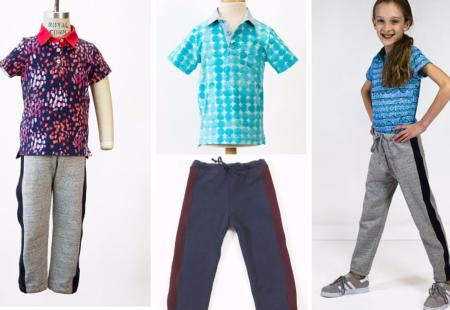 Oliver + S Pattern - Parachute Polo And Sweat Pants (5 - 12 yrs)