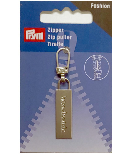 Prym Fashion Zipper Puller Handmade Silver-Colour
