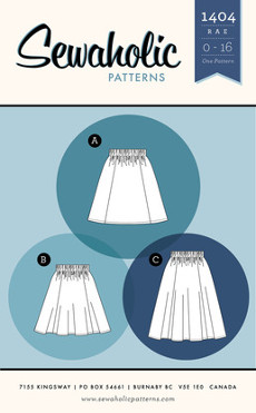 Rae Skirt Pattern - Sewaholic Patterns