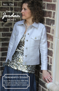 The Jordan Jacket Pattern - Serendipity Studio