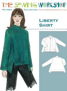 Liberty Shirt Pattern - Sewing Workshop Pattern
