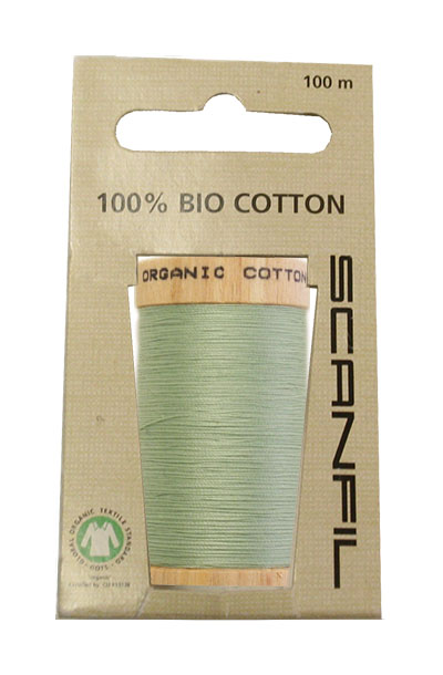 Scanfil Organic Thread 100 Metre Hang-sell - Mint