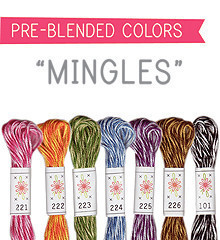 Mingles - Sublime Floss Selection Pack - 7pcs