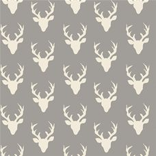 Hello Bear Tiny Buck Forest Mist - Art Gallery Fabric 44in/45in Per Metre