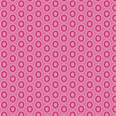 Oval Elements Passionate Fuchsia - Art Gallery Fabric 44in/45in Per Metre