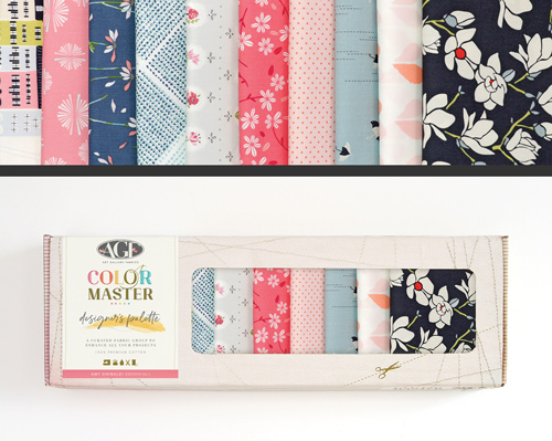 AGF Colormaster Amy Sinibaldi No 1 Designers Palette Fat Quarter Collectors Box