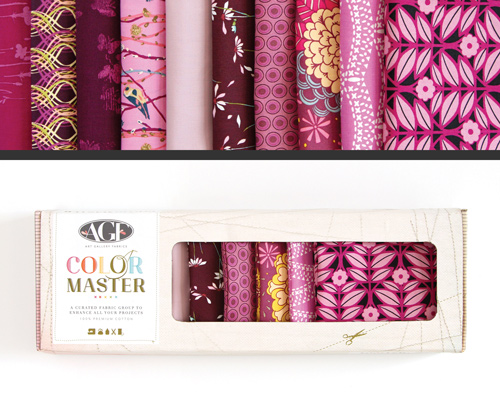 AGF Colormaster Half Yard Collectors Set - Vibrant Violet Edition
