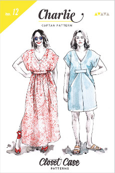 Charlie Caftan Pattern - Closet Case Files Pattern
