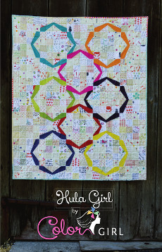 Hula Girl Quilt Pattern - Color Girl