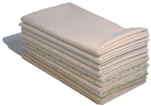 10 x 1 Metre Fabric Bundle - Cream