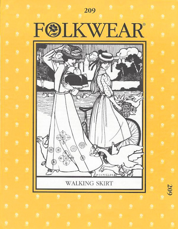 Walking Skirt by Folkwear