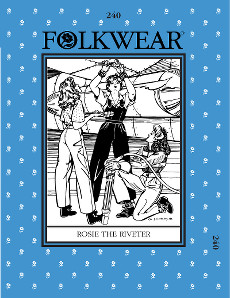 Rosie the Riveter by Folkwear Patterns