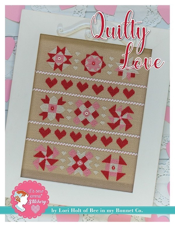 Quilty Love Cross Stitch Pattern By Lori Holt
