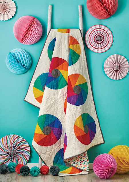 Love Patchwork & Quilting Issue 81 - Rainbow Rounds