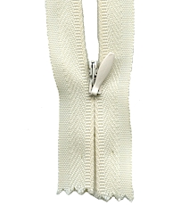 Make A Zipper Invisible - 162in Long With 12 Zipper Pulls - Cream