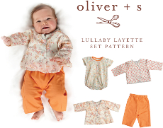 Oliver + S Pattern - Lullaby Layette (0 - 24 months)