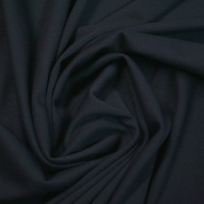 Ponte Roma Fabric Navy - 67% Polyester, 31% Viscose & 2% Elastane 150cm Wide Per Metre
