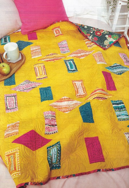 Quilt Now Issue 65 - Bold and Legendary Quilt
