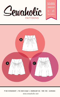 Crescent Skirt Pattern - Sewaholic Patterns