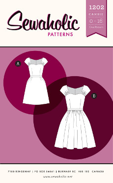 Cambie Dress Pattern - Sewaholic Patterns