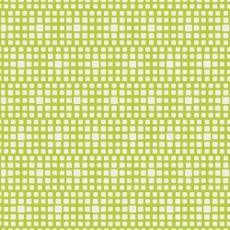 Squared Elements Lime - Art Gallery Fabric 44in/45in Per Metre