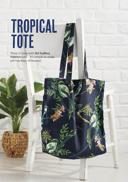 Simply Sewing Issue 64 - Tropical Tote