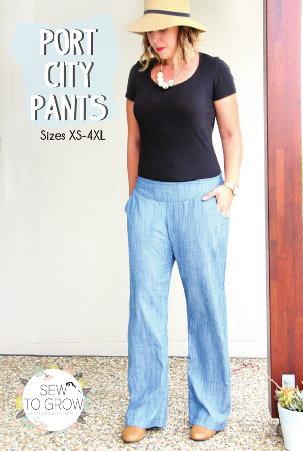 Port City Pants Pattern - Sew to Grow Patterns