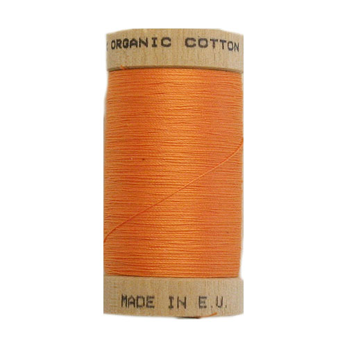 Scanfil Organic Thread 100 Metre Spool - Tangerine