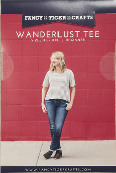 Wanderlust Tee Pattern - Fancy Tiger Crafts Patterns