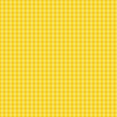 Checks Please Small Plaids Yellow - Cloud 9 Yarn Dyed Broadcloth Fabric 44in/45in Per Metre