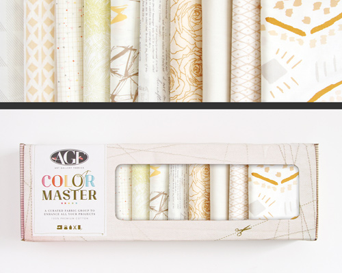 AGF Colormaster Half Yard Collectors Set - Winter Wheat Edition