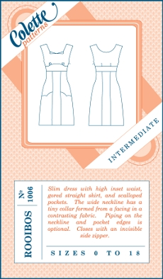Rooibos Dress Pattern - Colette Patterns