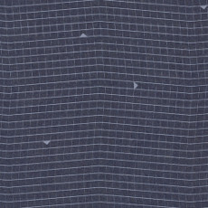 Bombazine Inspired Denim Print - Art Gallery Fabric 58in/59in Per Metre, 100% Cotton, 4.5 Oz/sqm