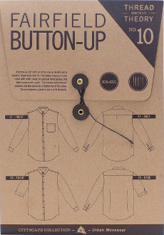 Fairfield Button-Up Shirt Pattern - Thread Theory Designs Inc Pattern