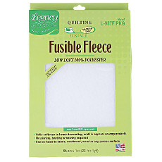 Legacy Fusible-fleece Low Loft Pack - 91cm (36in) X 55cm (22in)