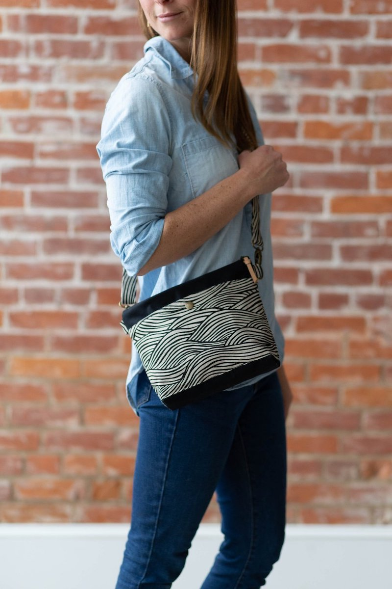 Hillside Tote Pattern by Noodlehead