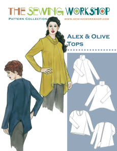 Alex & Olive Tops Pattern - Sewing Workshop Pattern