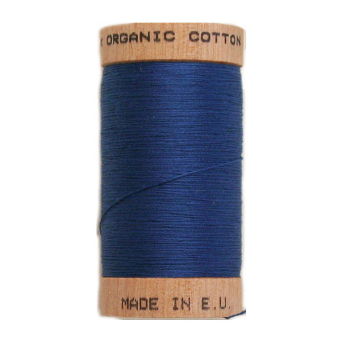 Scanfil Organic Thread 100 Metre Spool - Royal Blue