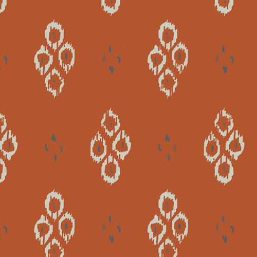Ikat Diamond Rustic in Cotton from Kismet designed by Sharon Holland for AGF