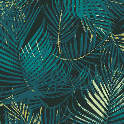 Palm Paradise in Rayon from Boscage by Katarina Rocella for AGF
