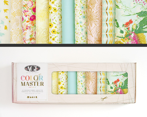 AGF Colormaster Fat Quarter Collectors Set - Gentle Spring Edition